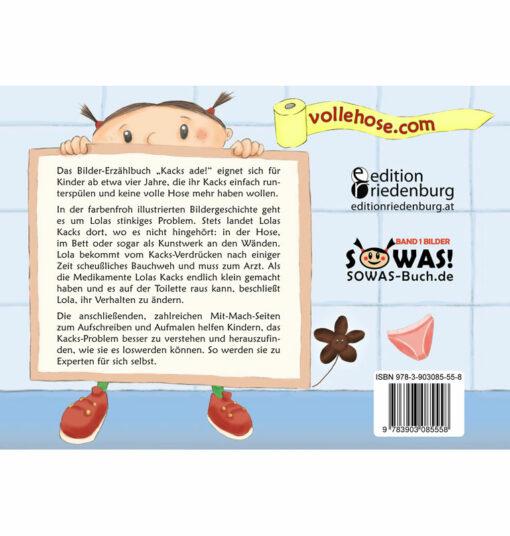 Kacks ade! Das Bilder-Erzählbuch für alle Kinder, die keine volle Hose mehr wollen