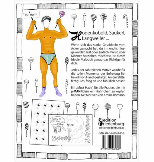 Hodenkobold, Saukerl, Langweiler ... Das frivole Malbuch für Frauen, die mit jeMANNdem ein Hühnchen zu rupfen haben (BC)