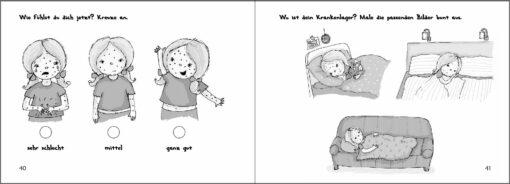 Wilma und die Windpocken - Das Bilder-Erzählbuch (Innenansicht)