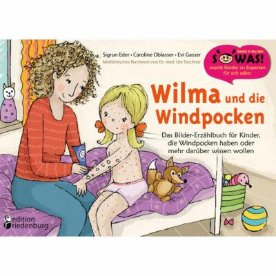 Wilma und die Windpocken - Das Bilder-Erzählbuch (Cover)