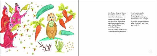 Hamster Henri isst glutenfrei - Das Bilderbuch zur Zöliakie (Innenansicht)