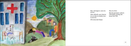 Cato, der Seelenträger - Das Bilderbuch zum Leben der Seelen (Innenansicht)