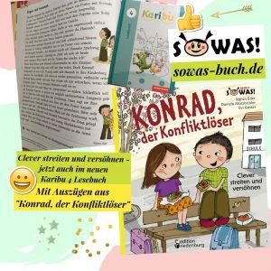 """""""Konrad, der Konfliktlöser"""" in """"Karibu 4 Lesebuch"""""""