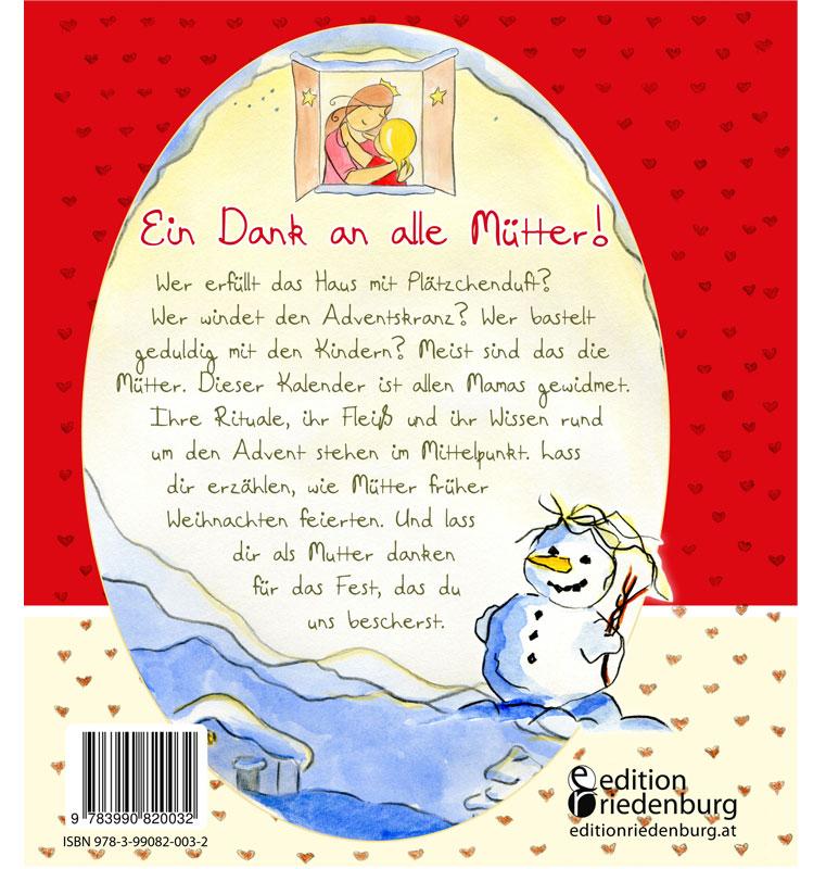 Mama Im Advent Mutter Adventskalender Edition Riedenburg