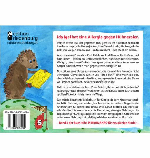 Die roten Fünf - Das Bilderbuch zu Nahrungsmittelallergien (BC)