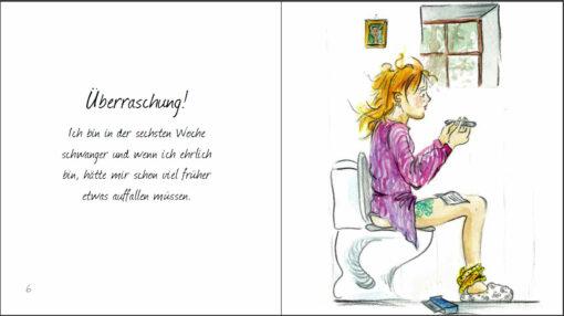 39 Wahnsinns Wochen - Wahre Cartoons zu Schwangerschaft, Geburt und Wochenbett (Innenansicht)