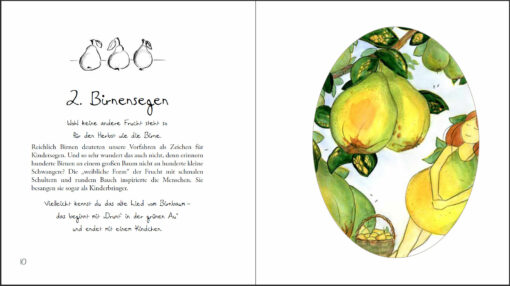 Schwanger im Herbst - Ein Herbstbuch für alle werdenden Mütter (Innenansicht)