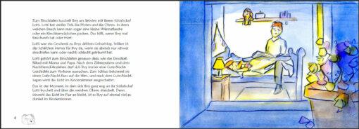 Ilvy schläft gut - Schlafen lernen mit System (Innenansicht)