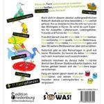 Ausmalspaß + Wissen: Fantatiere. Malbuch ab 6 Jahre. SOWAS!-Reihe (BC)