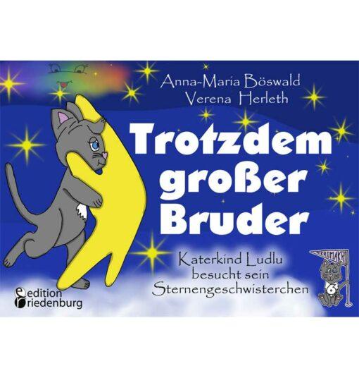 Trotzdem großer Bruder - Katerkind Ludlu besucht sein Sternengeschwisterchen (Cover)