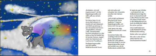 Trotzdem großer Bruder - Katerkind Ludlu besucht sein Sternengeschwisterchen (Innenansicht)