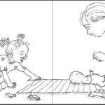 Das Geschwister Kritzelmalbuch zum Baby (Innenansicht)