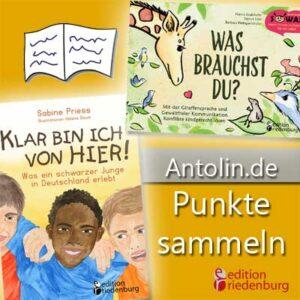 Antolin.de Punkte sammeln mit Titeln der edition riedenburg