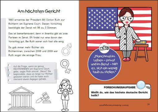 Ruth Bader Ginsburg - Richterin für Gerechtigkeit (Innenansicht)