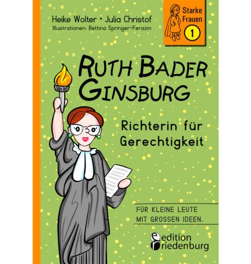 Ruth Bader Ginsburg - Richterin für Gerechtigkeit (Cover)