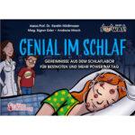 Genial im Schlaf - Geheimnisse aus dem Schlaflabor für Bestnoten und mehr Power am Tag (Cover)