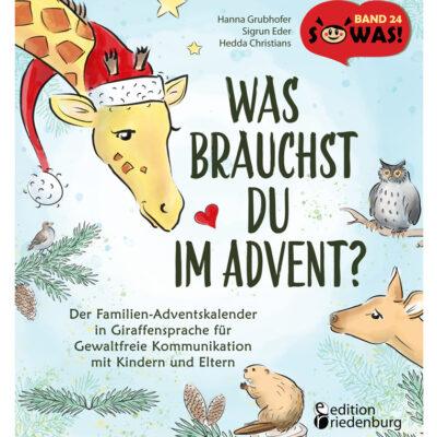Was brauchst du im Advent? Familien-Adventskalender GFK (Cover)
